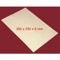 Feuille de Feutre Blanc en 6 mm (350x250)